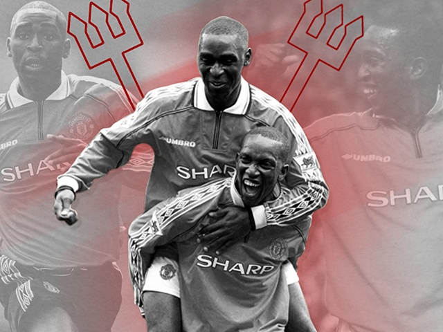 Dwight Yorke & Andy Cole