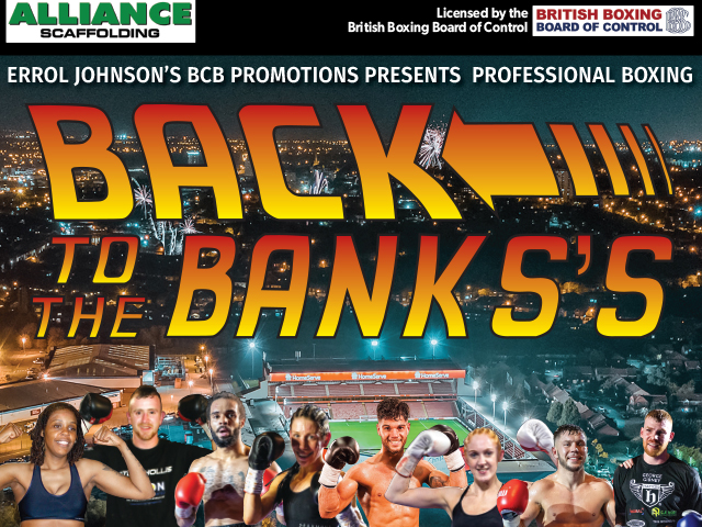 Pro Boxing Show - Back To The Banks's