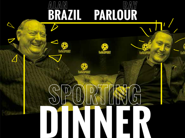 An evening with Ray Parlour and Alan Brazil
