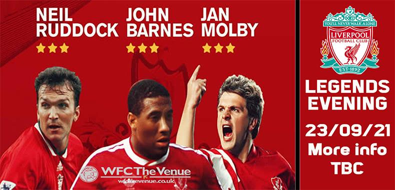 Liverpool Legends Evening
